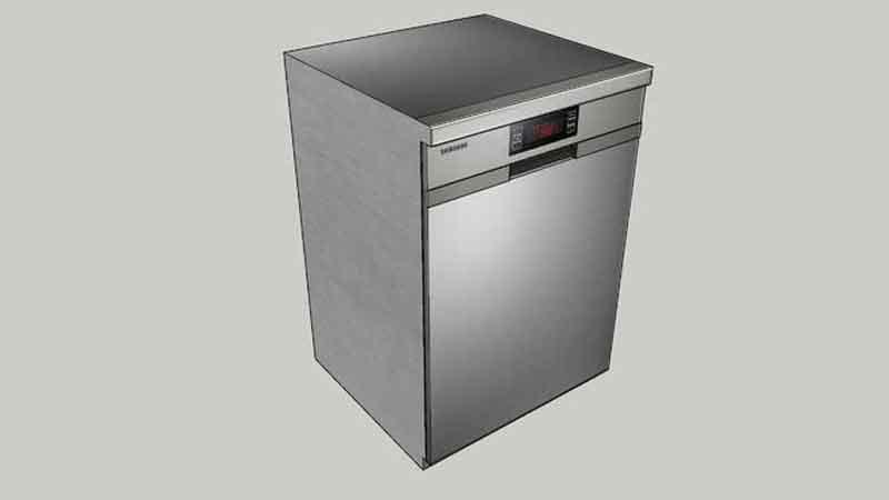 علت بوی بد ماشین ظرفشویی سامسونگ