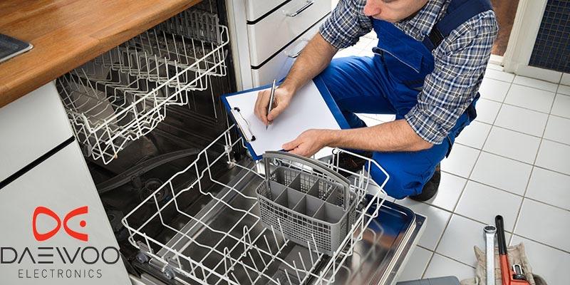 نمایندگی تعمیرات ماشین ظرفشویی دوو در کرج