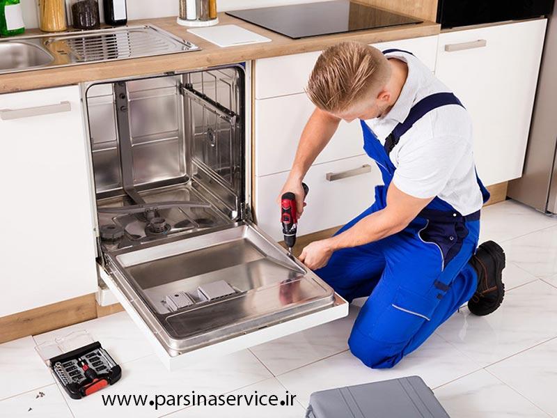 تعمیرگاه مجاز ماشین ظرفشویی اسنوا در کرج