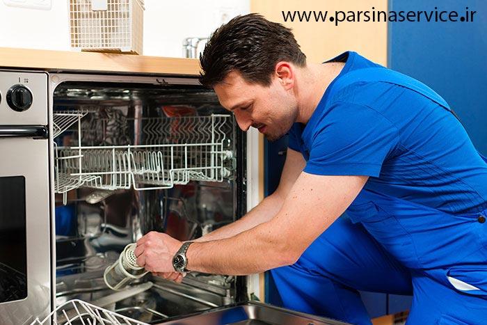 تعمیر تخصصی ماشین ظرفشویی اسنوا در کرج