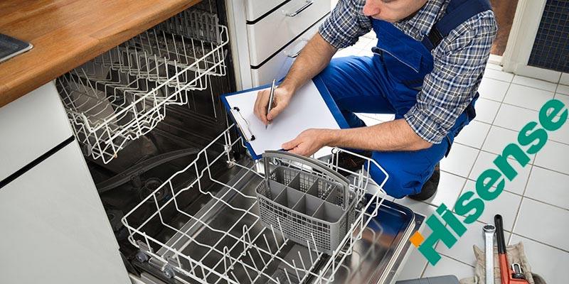 نمایندگی تعمیرات ماشین ظرفشویی هایسنس در کرج