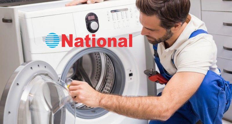 نمایندگی تعمیرات ماشین لباسشویی ناسیونال در کرج